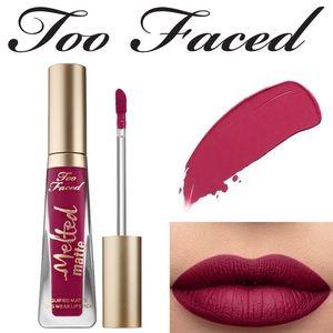 Too faced melted matte long wear lipstick